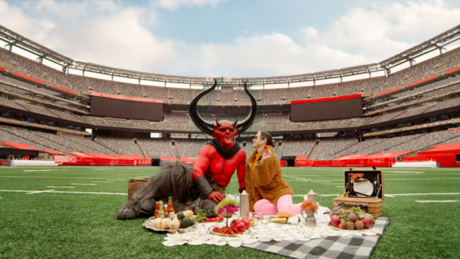 Photo of Satan and 2020 in a stadium