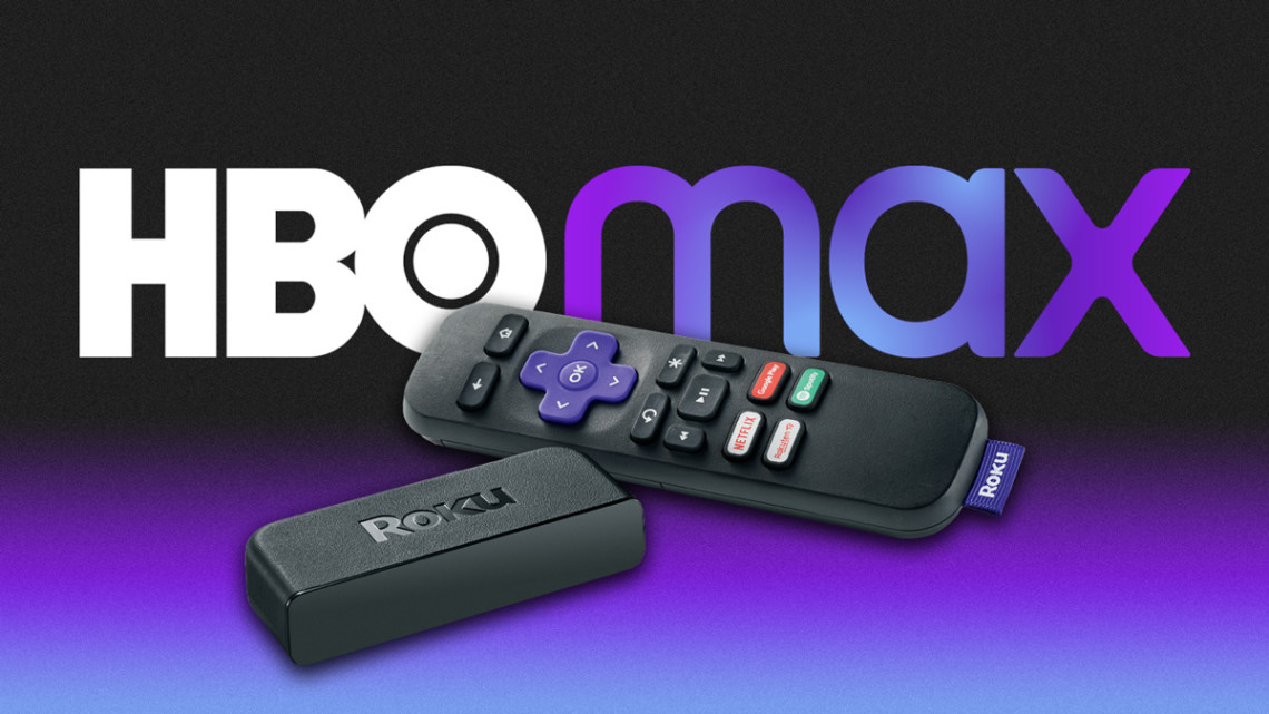 hbo max logo and two tv remotes