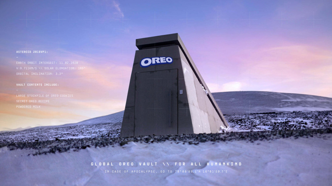 Image of Oreo's Doomsday Vault