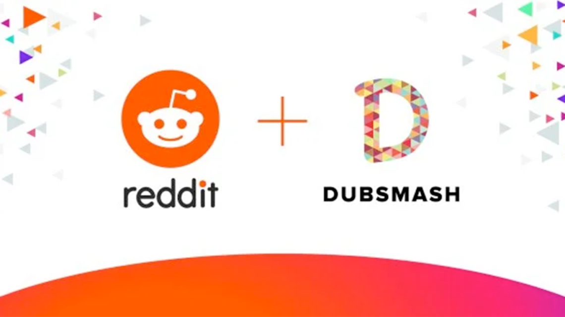 Reddit and Dubsmash logos