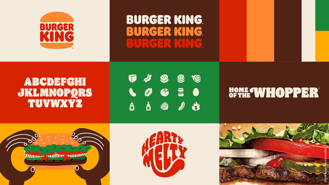 Burger King unveils first rebrand in more than 20 years | Marketing