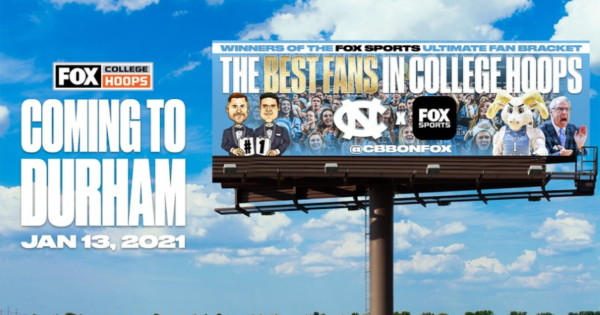 Why Fox Sports Put a Billboard Saluting North Carolina Fans in Duke Territory