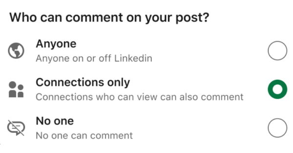 How to Change Who Can Comment on Your Posts