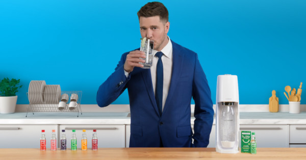 Michael Bublé Appears in Hilarious New SodaStream Bubly Ad