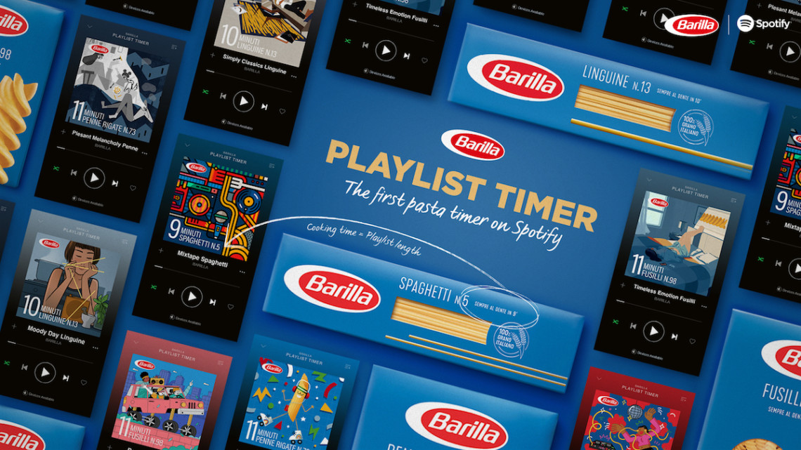 Barilla on Spotify