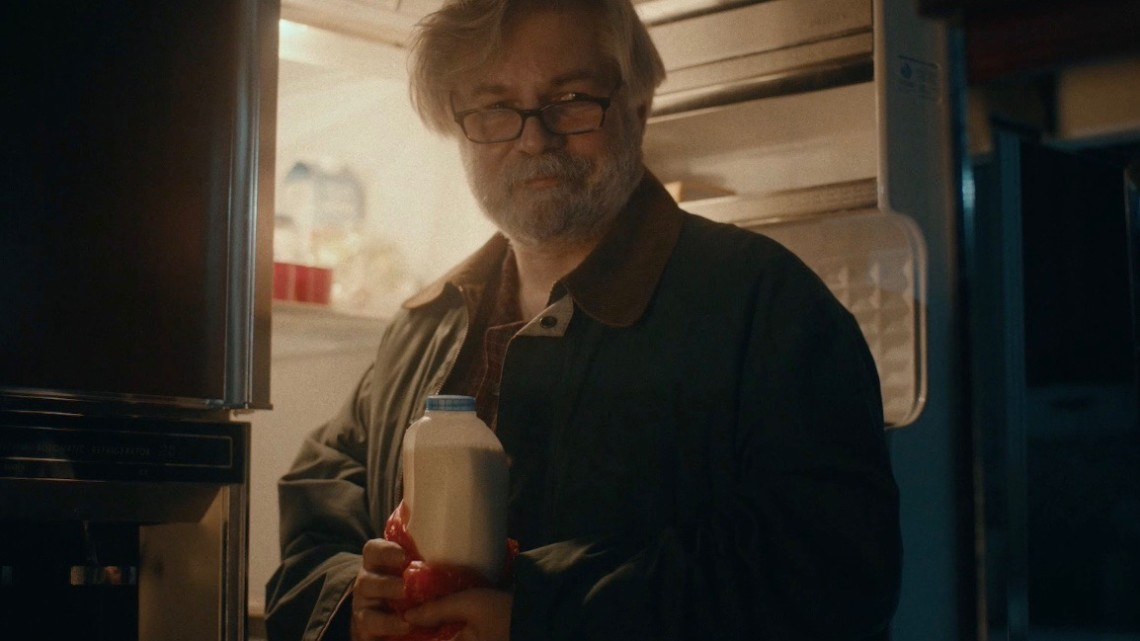 Still from an Oatly ad