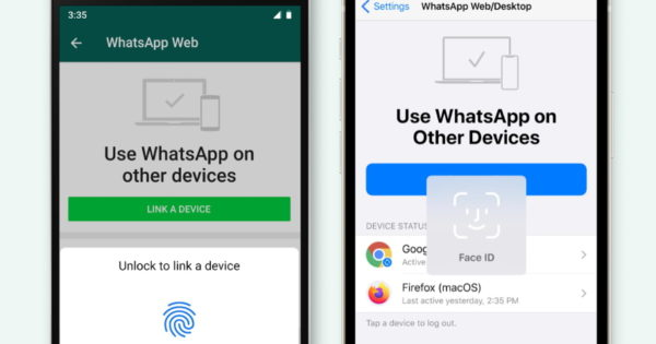 WhatsApp Taps Biometric Authentication as Extra Security Layer for Web, Desktop