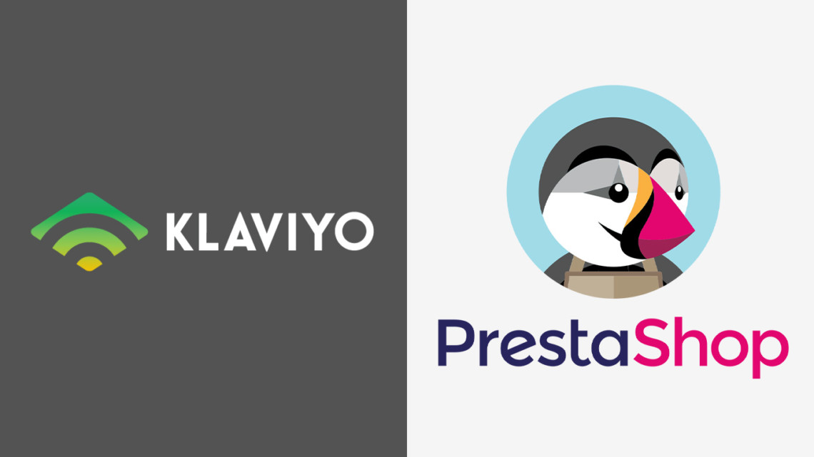 klaviyo and prestashop logos