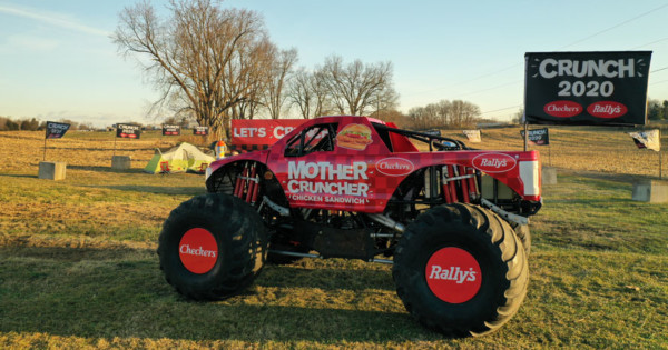 Checkers Monster Truck Crushes Everything That Sucked About 2020 (and That's a Lot)