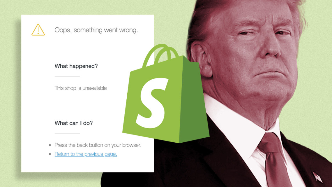 Shopify Permanently Bans Trump's Official Online Stores