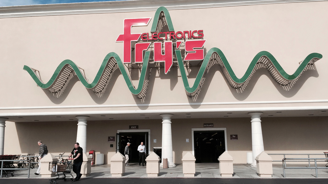 fry's electronics storefront