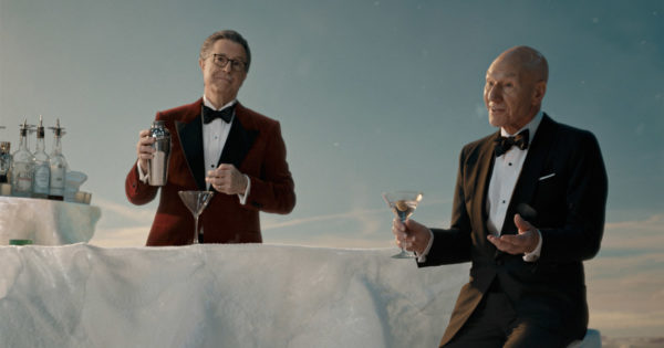 Celebrities Ascend 'Paramount Mountain' in Paramount+ Super Bowl Ad