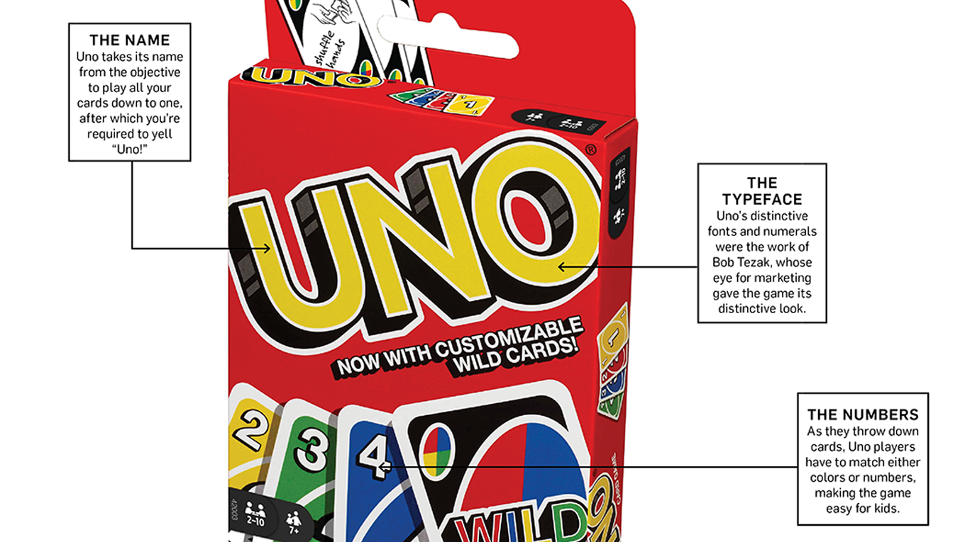deck of uno cards