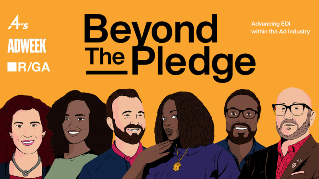 Beyond the Pledge is a limited podcast series in partnership with R/GA and the 4A's.