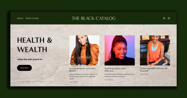 This Site Is Dedicated to All Things Black Wellness