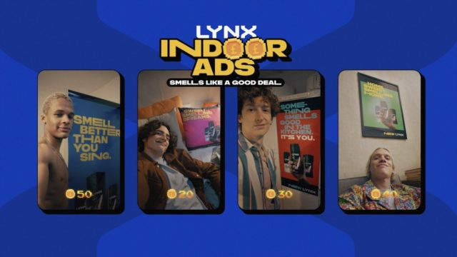 Fancy posing with a Lynx-branded pillow, shower curtain or poster?