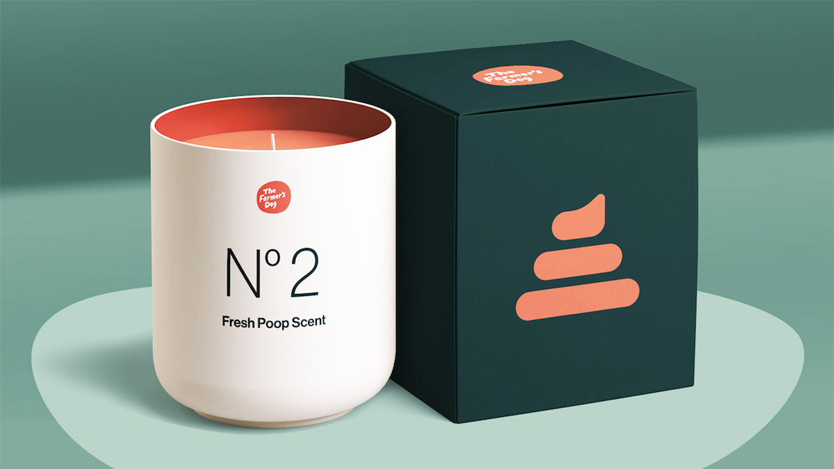 Poop-scented candle, anyone?