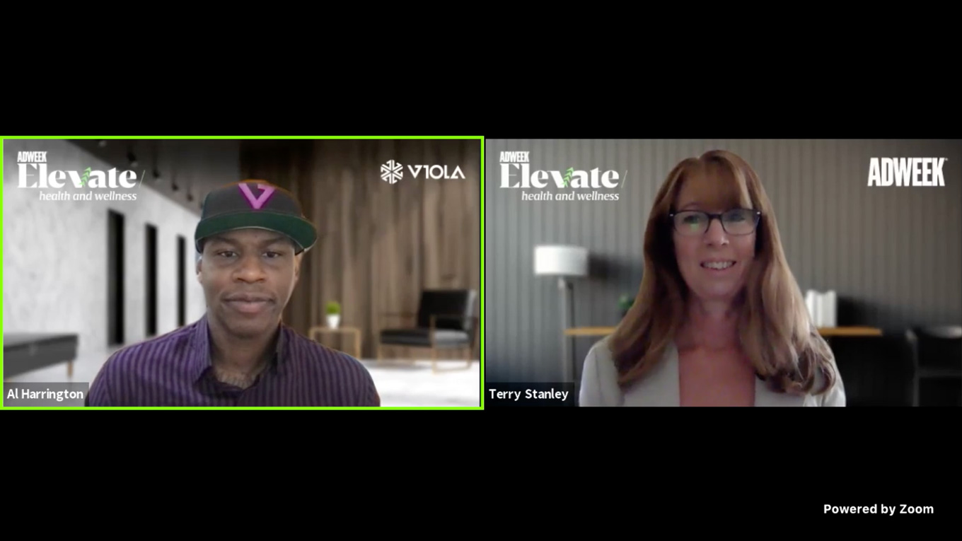 Viola Founder and CEO Harrington at the Adweek: Elevate Health and Wellness Summit
