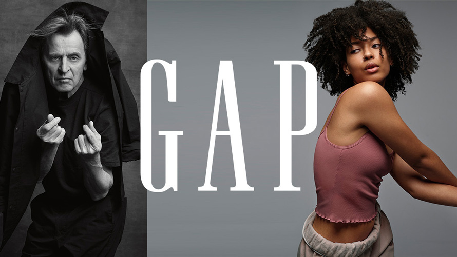 Mikhail Baryshnikov and Dizzy Fae are featured in the new Gap campaign.