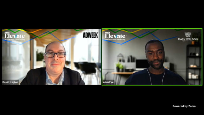 Mack Weldon's senior director of performance marketing and acquisition shared insights on Adweek's virtual stage.