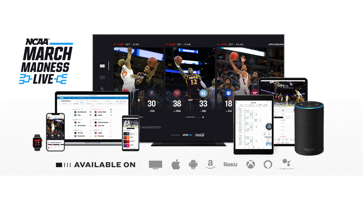 mashup of screens with basketball on them