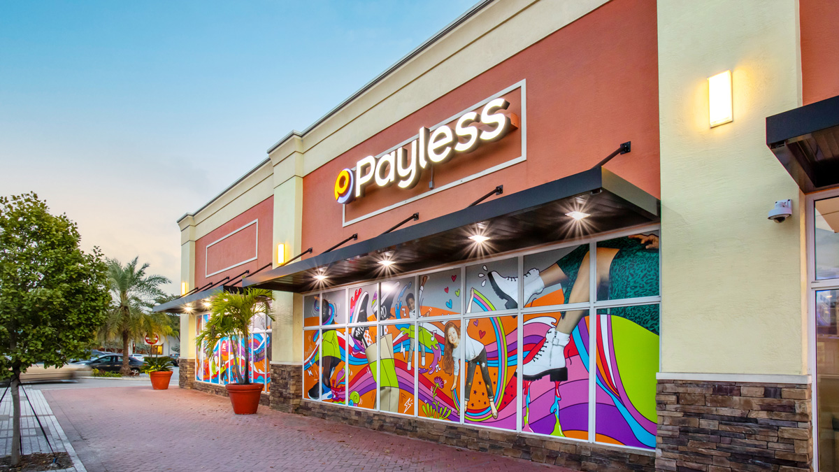 Footwear retailer Payless is opening its first physical store today in North Miami.