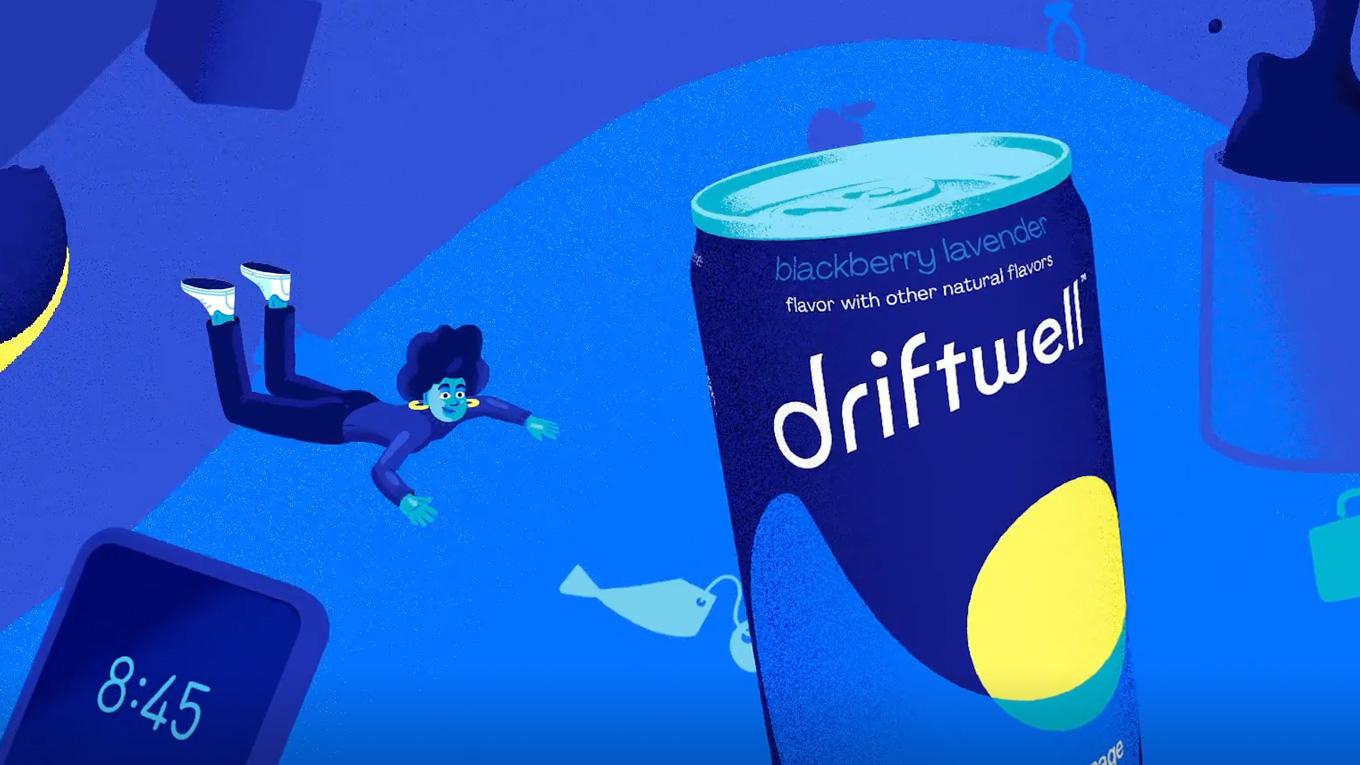 Driftwell is PepsiCo's first drink designed to help people relax before bedtime.