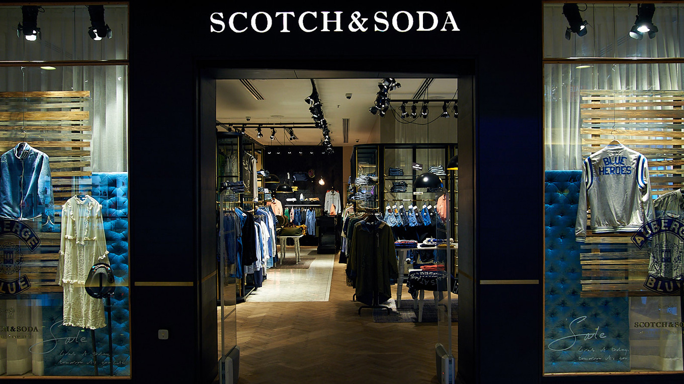 Scotch & Soda opened two stores in California in January, bringing its U.S. footprint to 43 stores. It will also open new offices in Shanghai and Milan.