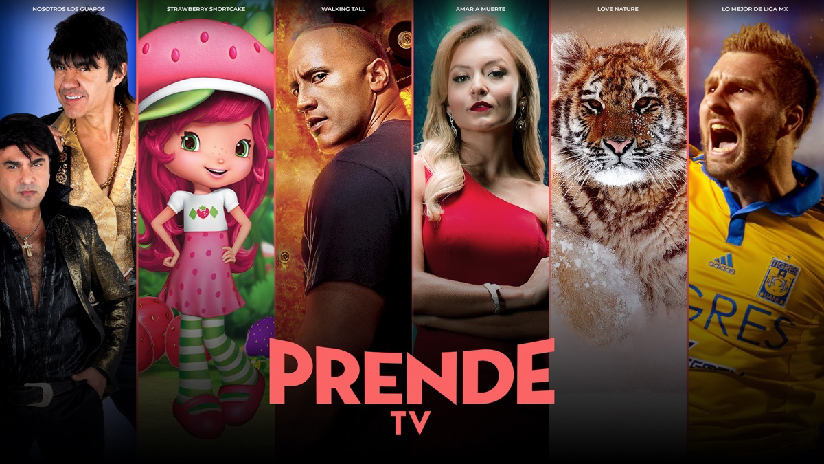 PrendeTV promotional art