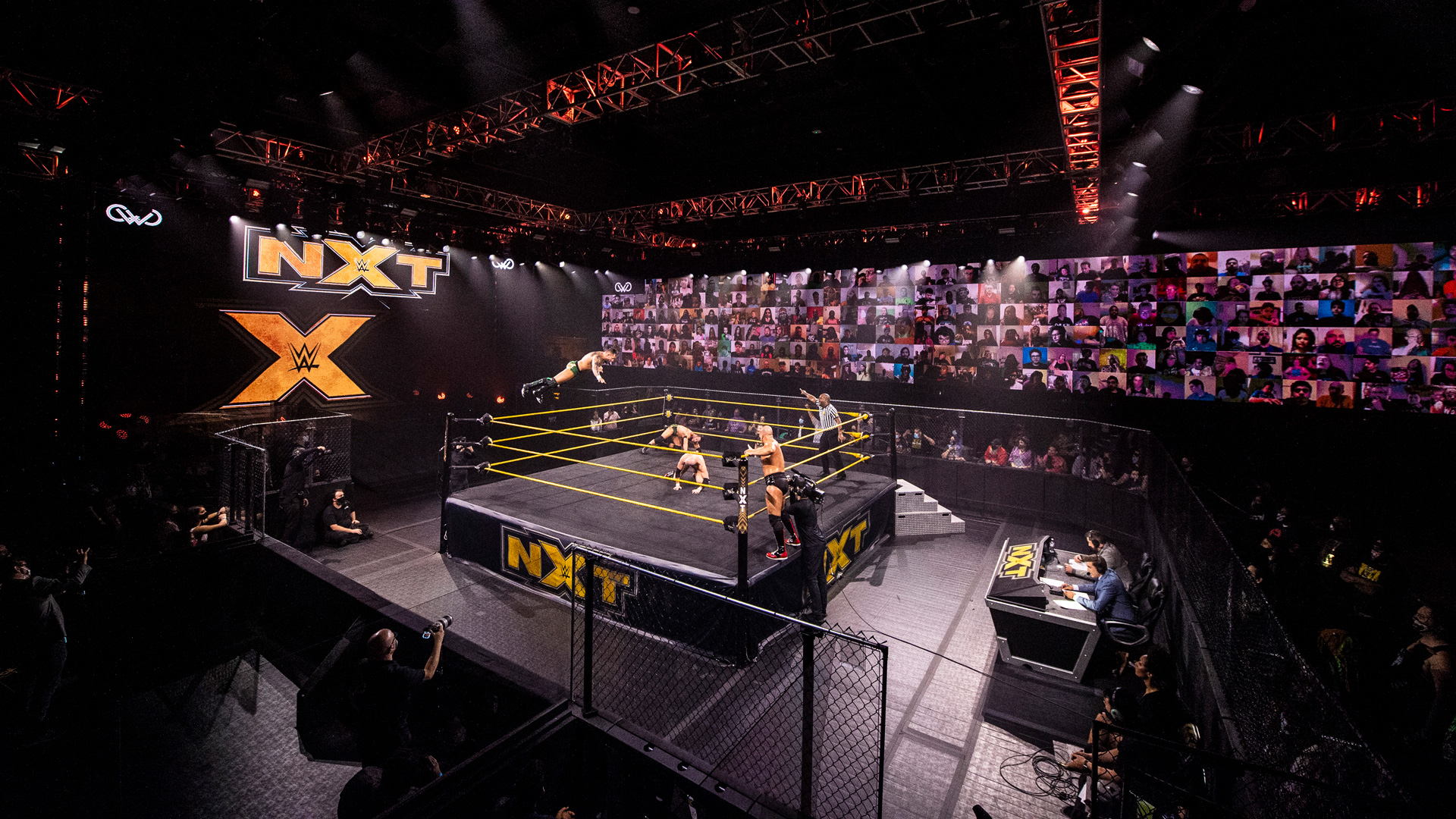 NXT began airing on USA Network in September 2019.