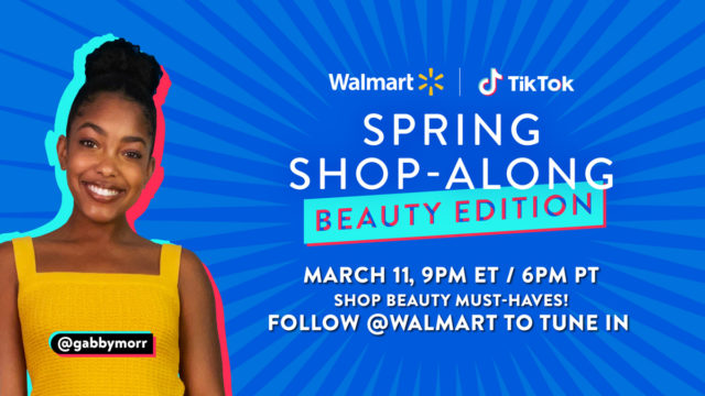 Walmart's second shoppable livestream will focus on beauty products.