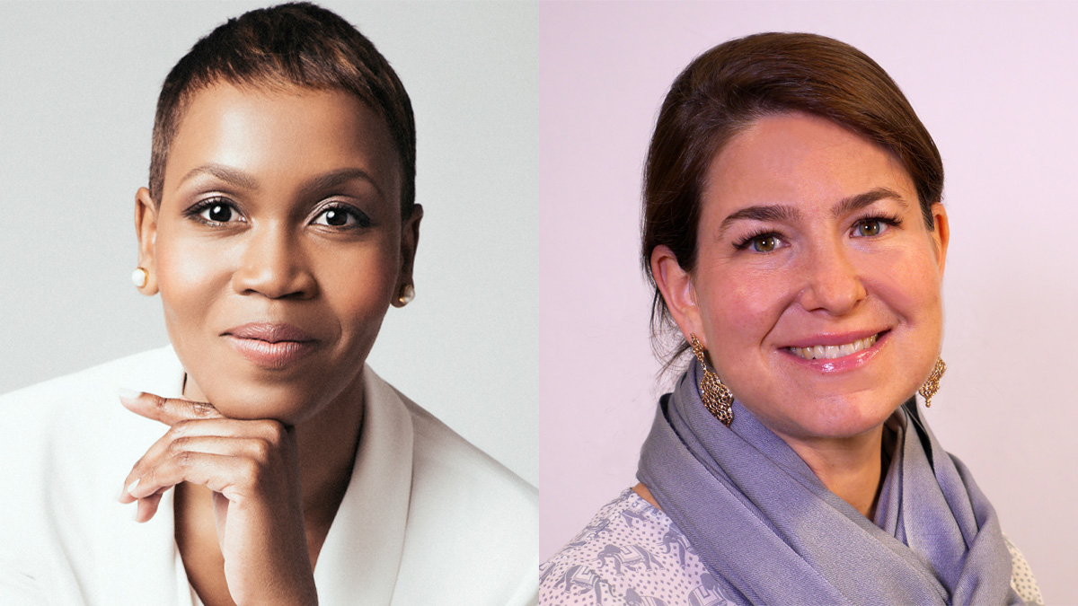 Yorlene Goff (left) joins MediaCom from Publicis Spine, while Lisa Davidian (right) comes from OMD.