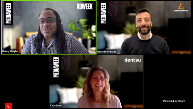 AB InBev and Dentsu joined Adweek's Mediaweek event to talk about how the two are best measuring audience engagement.