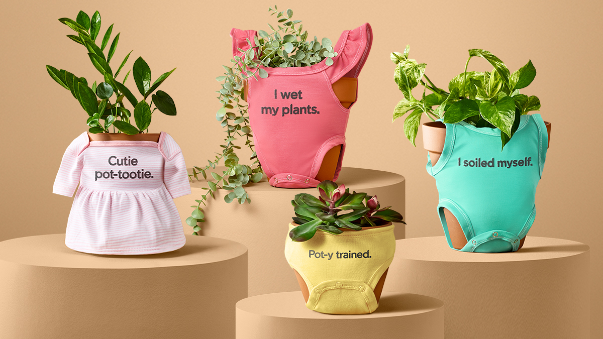 "Miracle-Gro gives fans a chance to clothe their ""cute plant babies."