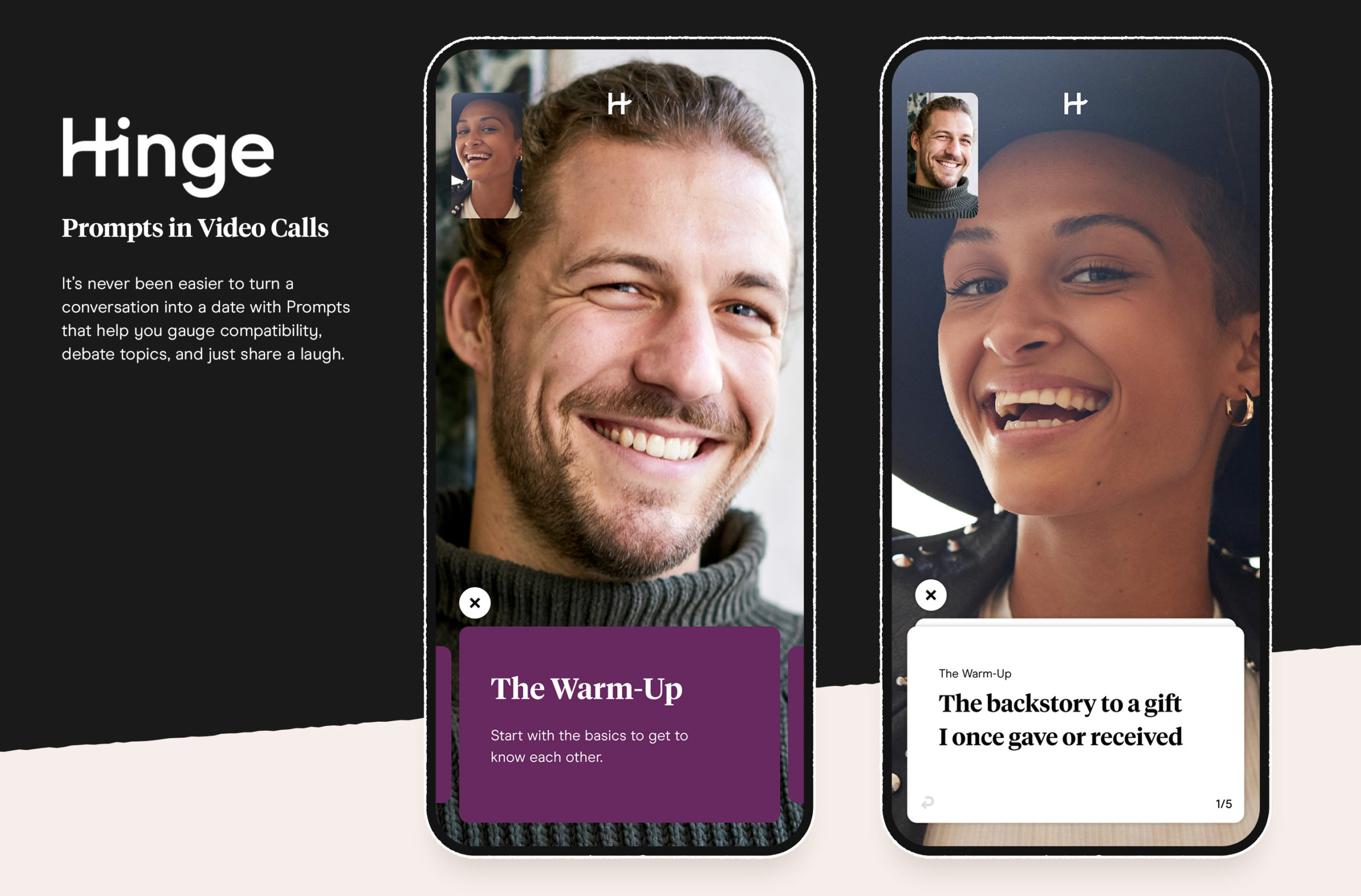 Hinge now includes video prompts to help facilitate a new approach to dating.