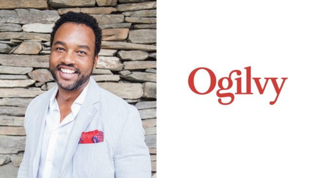 Ogilvy global chief diversity, equity, and inclusion officer James Kinney