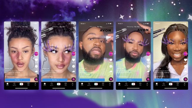 Avon's first TikTok campaign aims to reach a new audience via beauty influencers.