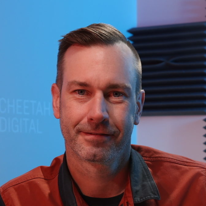 Portrait of Tim Glomb, VP Content and Data, Cheetah Digital