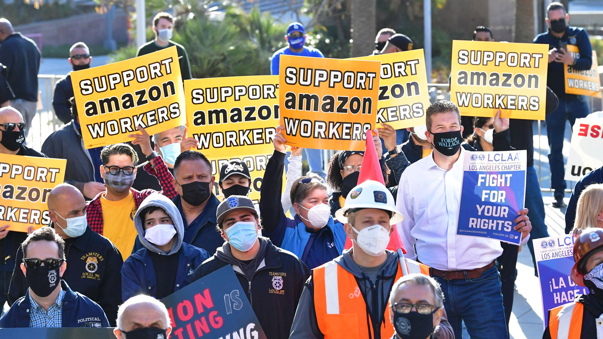 The National Labor Relations Board found Amazon illegally fired two employees in 2020.