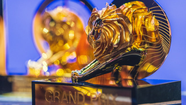 A Cannes Lions award
