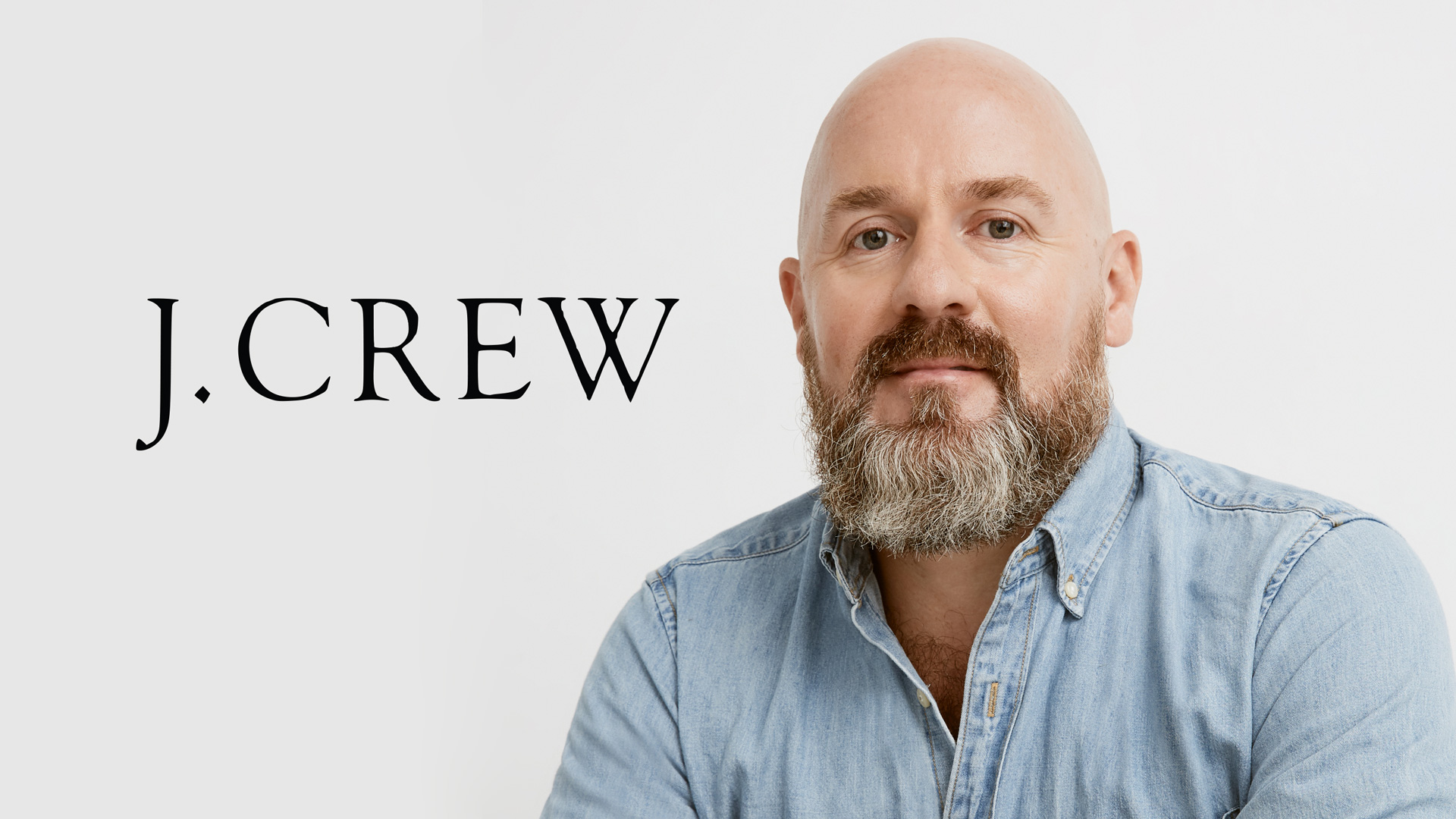 a photo of Derek Yarbrough the new CMO of j.crew