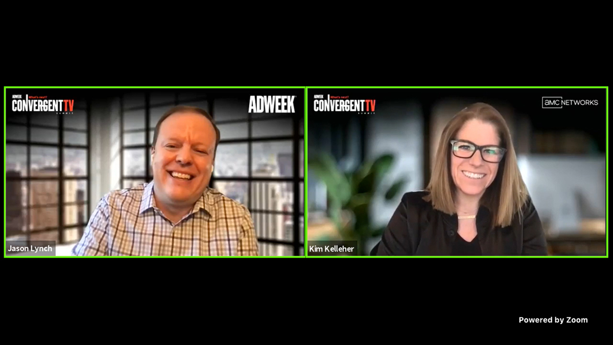 """""""Great quality, engaging content wins on any format,"""" Kim Kelleher told Kelleher told Adweek's TV editor Jason Lynch."""