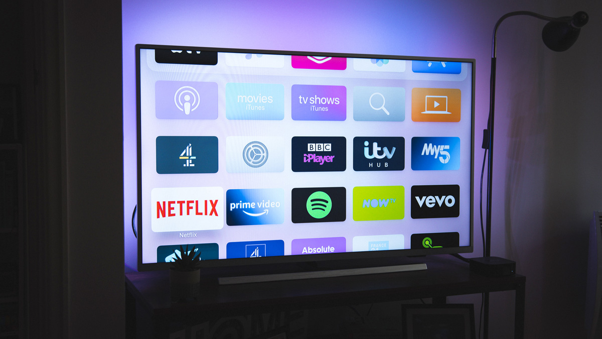 More people have been using connected TVs as they stay home during the pandemic.