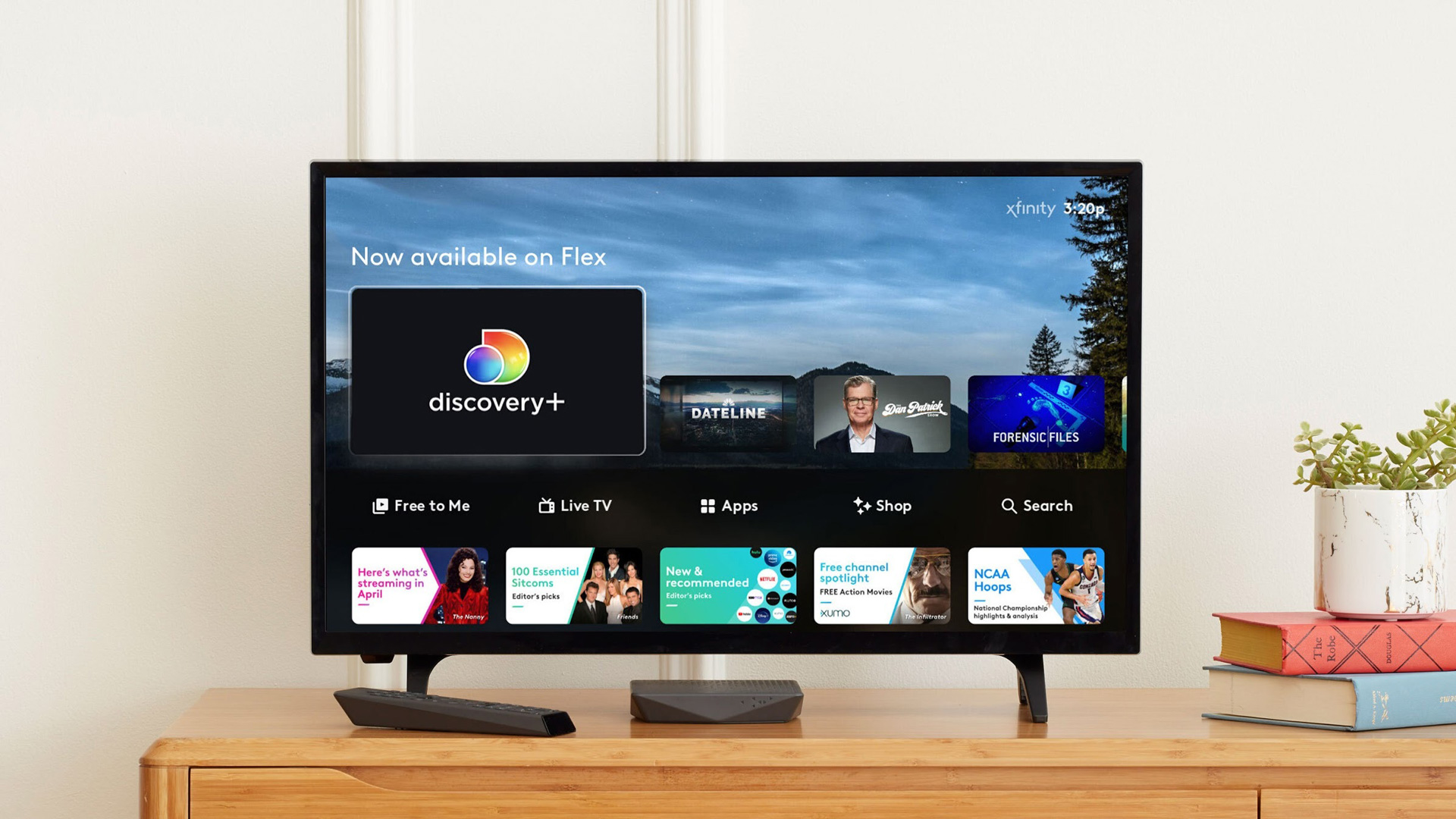 Discovery+ will arrive on Xfinity Flex devices today, and will come to X1 in the coming weeks.