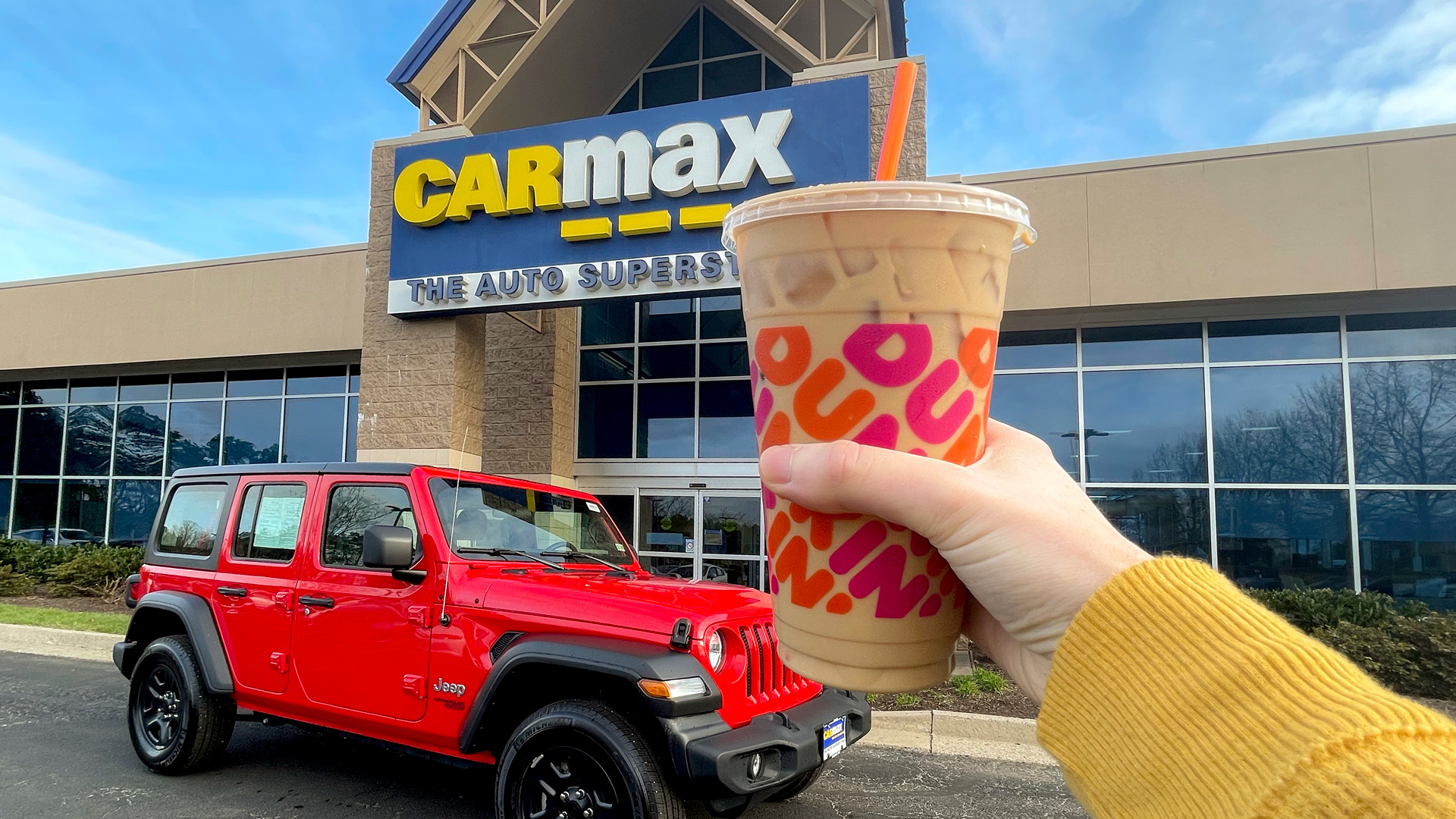 From now until May 16, the brand's 24 hour test drive comes with a $10 Dunkin' gift card.