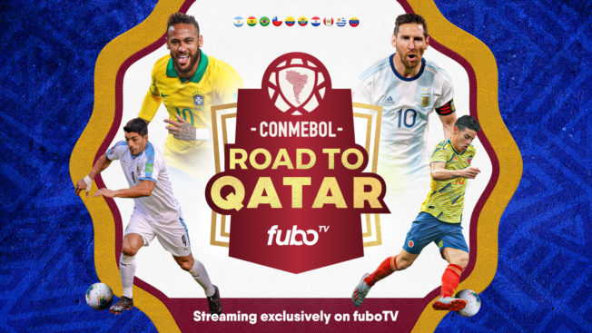 FuboTV will be the exclusive streamer of the South American Football Confederation.