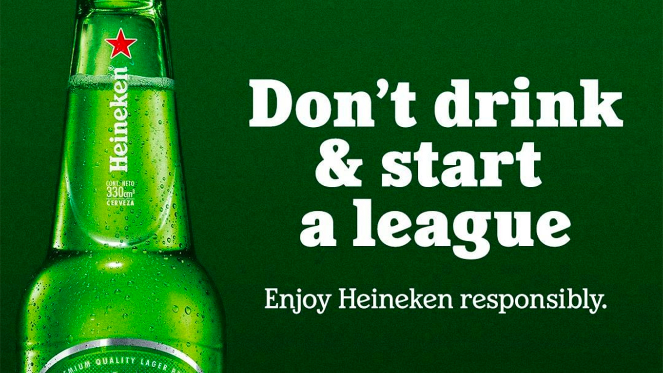 Heineken is a longtime sponsor of the UEFA Champions League, which Super League organizers attempted to break away from.