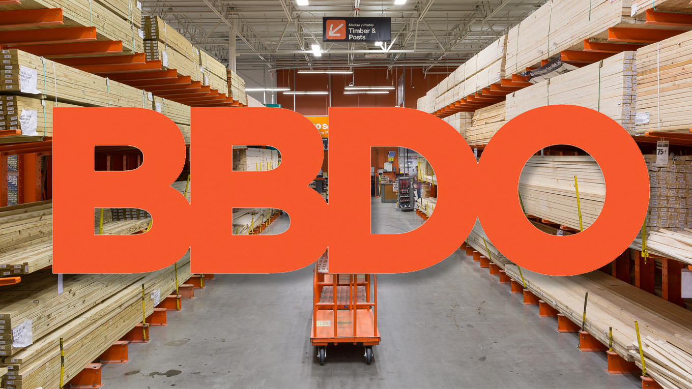 Home Depot's selection of BBDO as U.S. creative agency of record concludes a review launched last year.