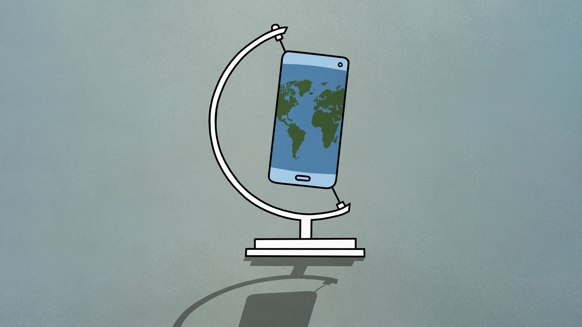 mobile phone standing