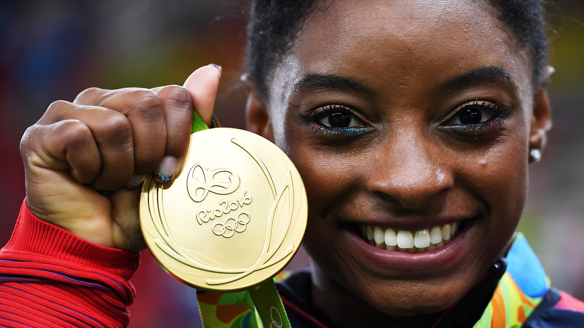 Simone Biles inked a long-term deal with Gap's Athleta banner.